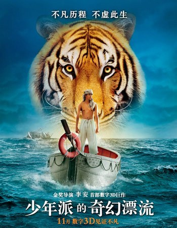 一个16岁的少年,一只老虎
